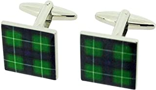 scottish tartan cufflinks