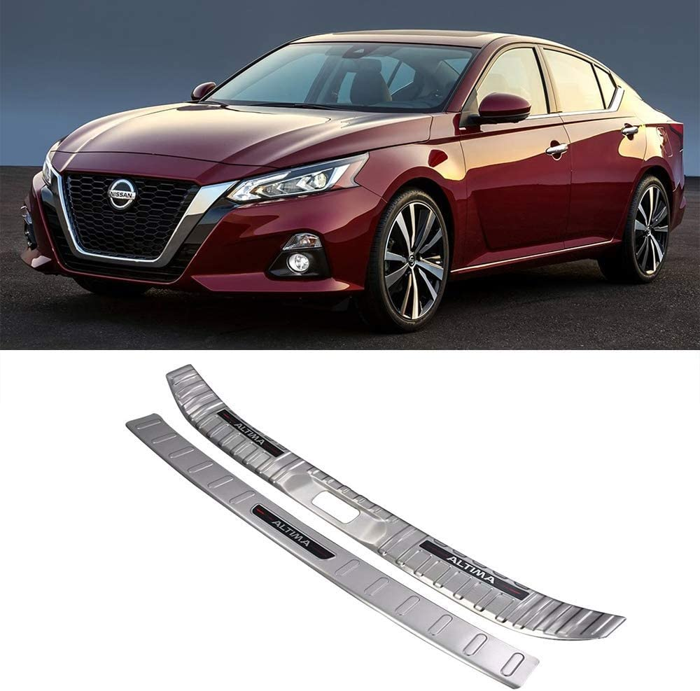 NINTE Free shipping anywhere in the nation Fit for 2019 Nissan Silver Inner Steel Altima Stainless Cash special price