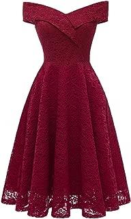 Best off the shoulder wine bridesmaid dress Reviews