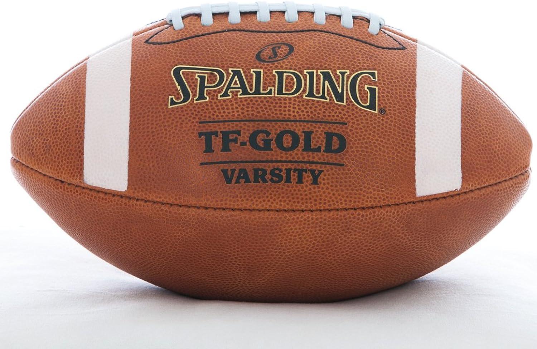 Spalding Leder Fuball tf-Gold Varsity Top Grain Leder NFHS zugelassen voller Gre Premium Fuball