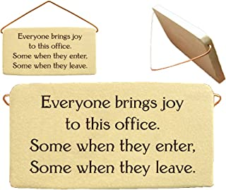Best funny office plaques Reviews