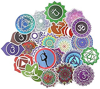 Party Hive Mandala (24 Pieces) Assorted Decal Stickers Arts Crafts Scrapbook