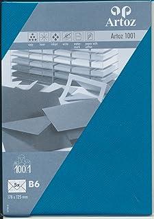 Artoz Doppelkarte 1001 Classic quadratisch 155x155mm 5er-Pack crema