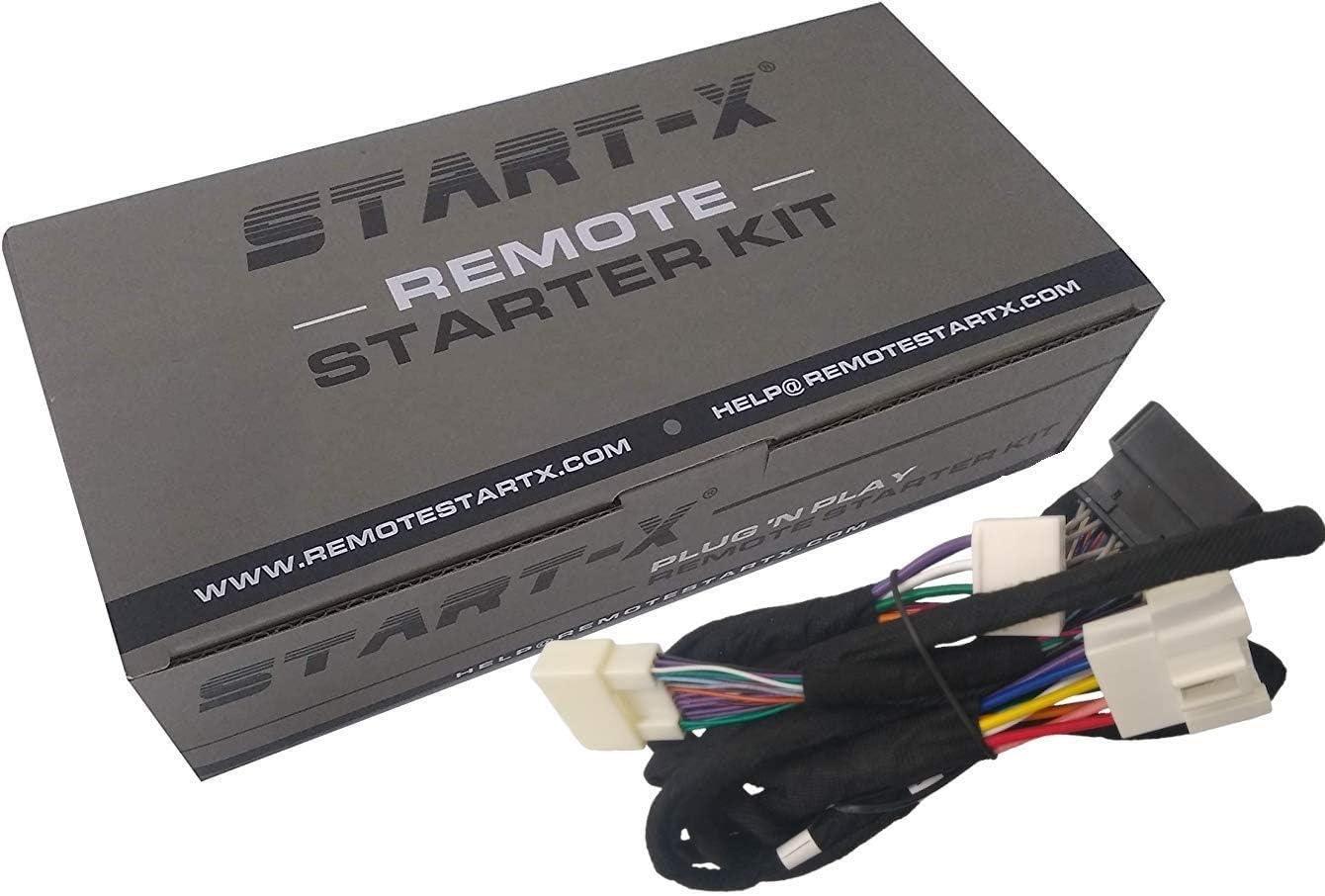 Start-X Remote Starter for Tacoma 2016-2021 || Highlander 14-19 Key Start || Plug N Play | 3 X Lock to Remote Start