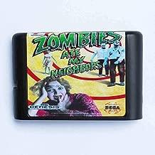 Zombie Ate My Neighbors 16 Bit Md Game Card For Sega Mega Drive For Genesis