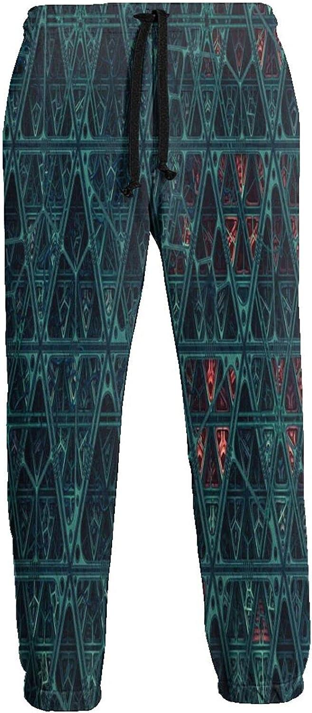 Kimisoy Washington Mall Jogger Pants Triangle Tribe with Elastic Sweatpants Soft 40% OFF Cheap Sale