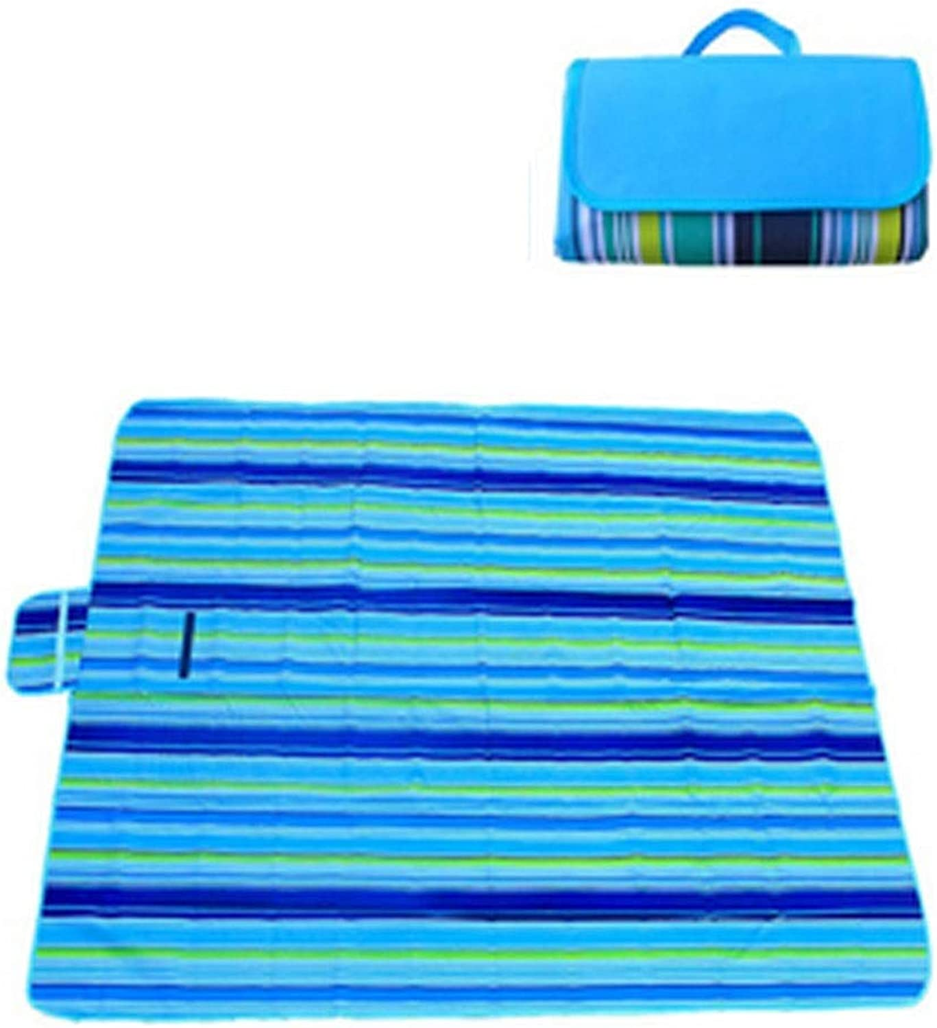 Camping Mat, Outdoor Waterproof Beach Mat, Picnic Mat, 200  145 cm, Suitable for Outdoor Travel, Multicolor Optional (Send Storage Bag) (color   A01, Size   200  145cm)