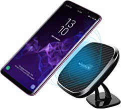 [10W Fast Charge] Nillkin 2-in-1 Qi Wireless Charging Pad & Magnetic Car Mount Holder for Samsung Note 9/8/S9/S8/S8 Plus, 7.5W Fast Charging for iPhone Xs Max/XS/XR/X/8/8 Plus - Model C
