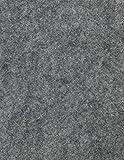 Fieltro sintético, cortes , gris, apr. 22 x 30 cm - 25 unidades