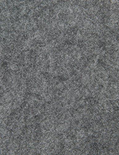 The Felt Store - Bastelfilz Filzzuschnitte in grau aus synthetischem Filz 26 Stück