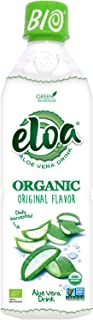 ELOA Organic Original Flavored Water Aloe Vera Pulp, Natural Fresh Fruit Flavor Vegan Clean Gluten Free Non GMO Healthy Re...