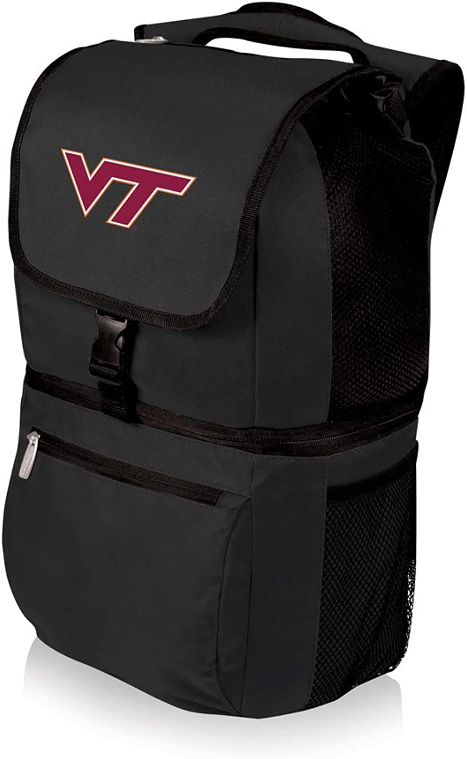 NCAA Virginia Tech Hokies Zuma Insulated Cooler Backpack, Black