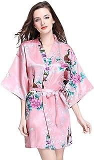 Yichun Femme Pyjamas Coton Chemise De Nuit Fin Robe De Nuit De