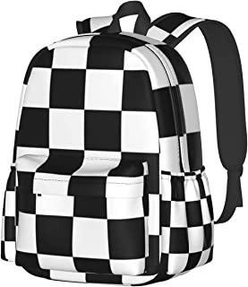 Sponsored Ad - Plaid Bag Fashion Trend And Leisure 600d Oxford Cloth Backpack Adult Universal Adjustable Shoulder Strap