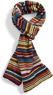(ポールスミス) PAUL SMITH メンズ マフラー・スカーフ・ストール Multistripe Knit Scarf [並行輸入品]