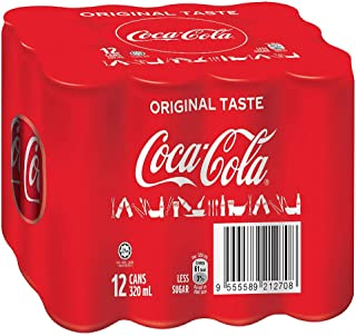 Coca-Cola Original Taste, 320 ml (Pack of 12)
