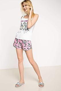 DeFacto Girl Power Baskılı Lisanslı Pijama Takımı