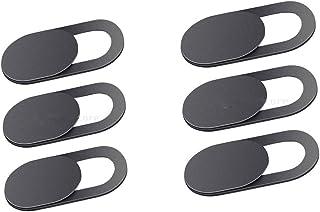 6 Peças Tampa Camera Capa Etiqueta Adesivos de Privacidade para Câmera Bloqueador de Câmera Deslizante Removível e Reutili...