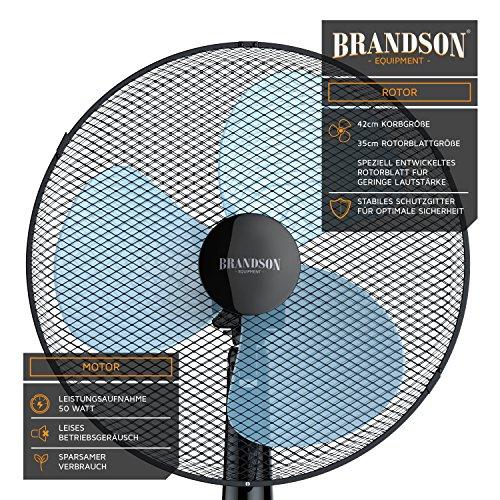 Brandson – Standventilator höhenverstellbar Bild 2*