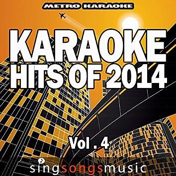 Karaoke Hits of 2014, Vol. 4