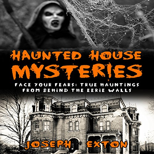 Haunted House Mysteries audiobook cover art
