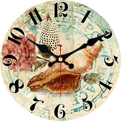 Hyllbb Fashion Round Cute Dog Wall Clocks for Children' Living Study Room Durable Decorative Animals Watches Art Clock@16inch
