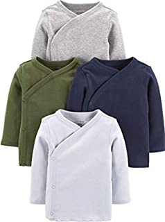 Carter's Baby Boys 4-Pack Cotton Kimono Tees
