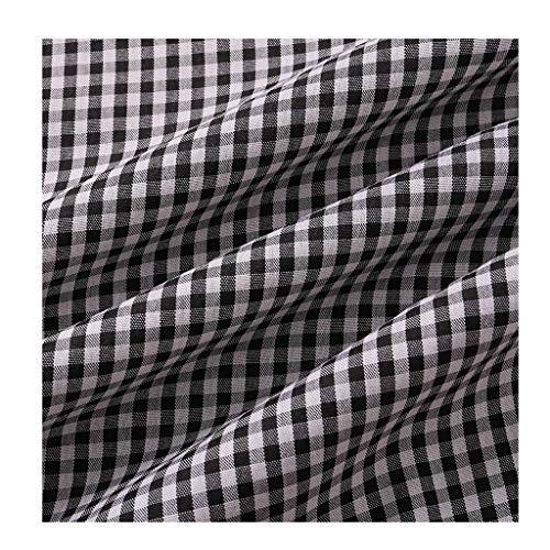 Tartan Schotten Stoff Stoff Plaid Künstliche Baumwolle Baumwolle Seide Mit Kleidungshemd DIY Handmade Plain Weave 1.5M NIU