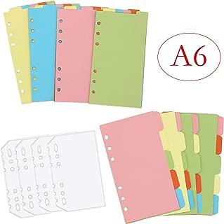 PP A6 quer weiß 24teilig alphabetisch Leitregister herlitz Karteiregister A Z