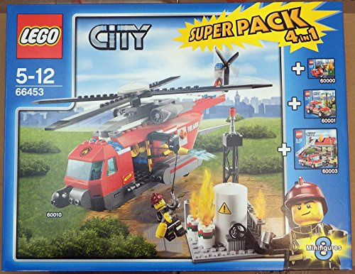 LEGO® City 66453 - Feuerwehr Super Pack 4 in 1