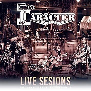 Live Sesions En Vivo Desde El Estudio