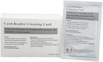 50pk Presaturated Swipe Head Cleaning Cards (Dual Side)