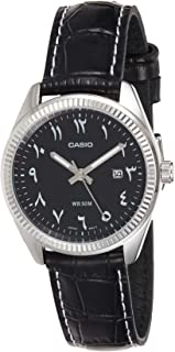 Casio Casual Watch Analog Display For Women Ltp-1302L-1B3Vdf, Black Band