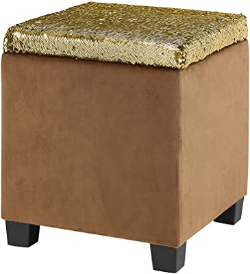 Enjoyable Amazon Com Storage Stool Lxf Ottomans With Lid Ottoman Creativecarmelina Interior Chair Design Creativecarmelinacom