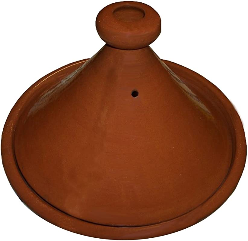 Moroccan XLarge Cooking And Serving Tagine 100 Lead Free 13 Inches