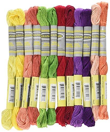 Sullivans Size 5 Pearl Cotton Pack (12...