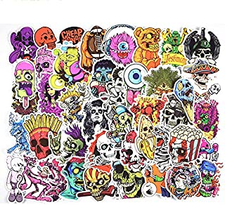 50 Pieces Set Cartoon PVC Sticker Snowboard Car Styling Luggage Fridge Laptop Toy Vinyl Decal Home Decor Cool Stickers