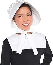 Amscan 242188 Child Bonnet, White, One Size