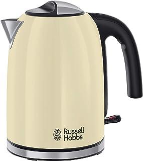 Russell Hobbs Bouilloire Familiale 1,7L, Ebullition Rapide, Filtre Anti-Calcaire Amovible Lavable - Crème 20415-70 Colours...