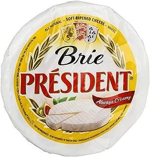 President Precious Plain X2 Brie Cheese, 2 Pound -- 2 per case.