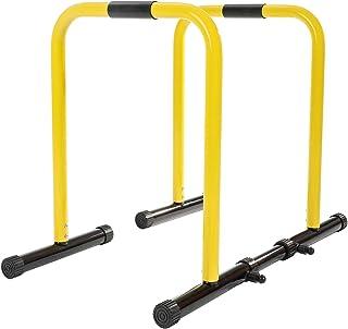 comprar comparacion RELIFE REBUILD YOUR LIFE Barras Paralelas Dip Station Calistenia Push Up Bars de Inmersión Ajustable Entrenamineto Muscula...