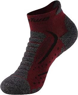 Running Socks, Feelwe Unisex No Show Moisture Wicking Socks Climbing Hiking Socks 1/3/6 Pairs