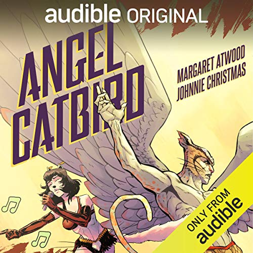 Angel Catbird audiobook cover art