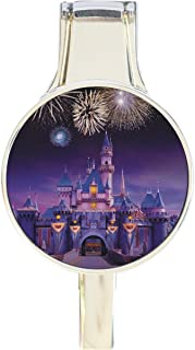 Disney Castle Fireworks Everything Purse Hanger Handbag Hook Retractable Folding