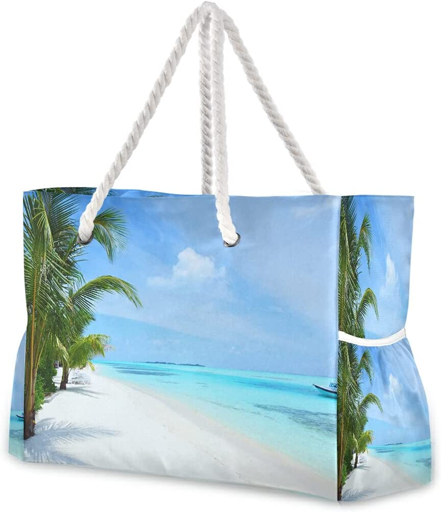 Large Beach Bags Totes 11 Canvas Bag Tro Landscape Shoulder Tote Now Max 70% OFF free shipping