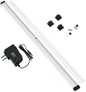 EShine LED Dimmable Under Cabinet Lighting - Extra Long 40 Inch Panel, Hand Wave Activated - Touchless Dimming Control, Cool White (6000K)
