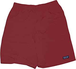 248e50e4ee Patagonia Child Boy's Baggies Short (Large 12) Red Swim Shorts Trunks