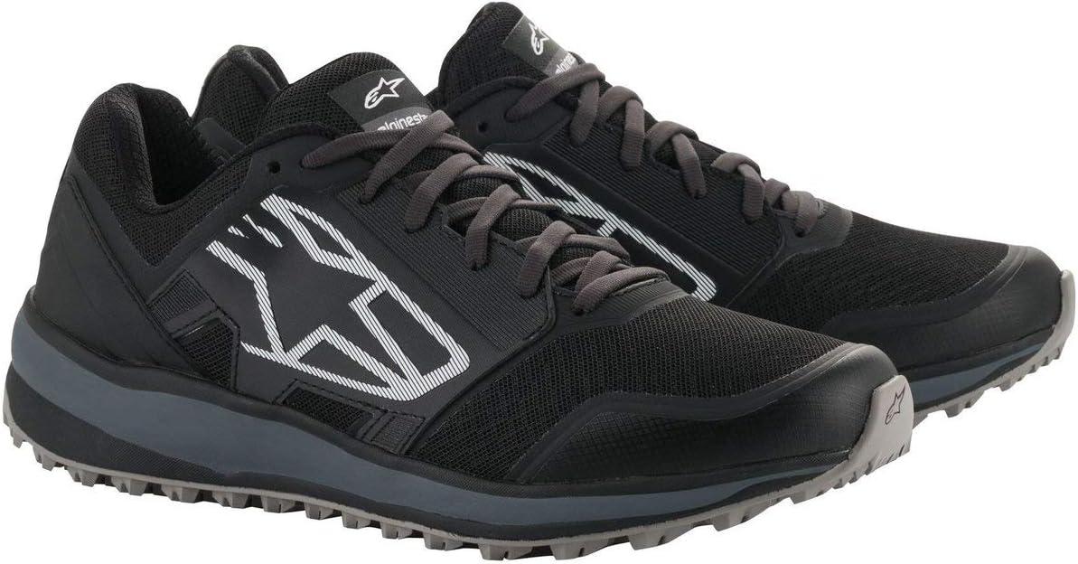 Alpinestars Men's Meta Trail Shoe, Black/Dark Gray, 8.5