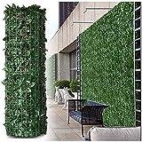 YZJL Valla de privacidad de Hiedra Artificial, Pantalla de hogar, jardín al Aire Libre, Patio, Pantalla de privacidad, Pared de Planta, Valla de privacidad Decoracion Jardin(Color:,Size:1.5x9m)
