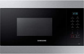 Samsung MS22M8074AT - Microondas empotrable (acero inoxidable, 22 L, 850 W)